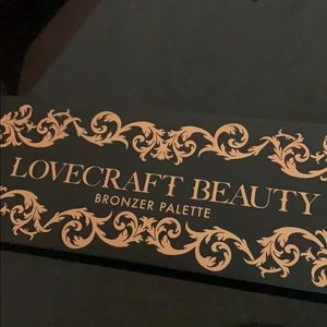 Lovecraft  beauty bronzer palette NIB